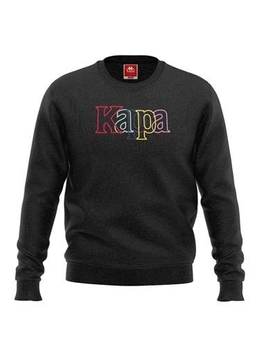 Kappa Çocuk Sw-Shirt Tartıv  Siyah